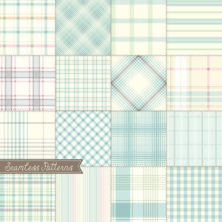 Vector seamless patterns.