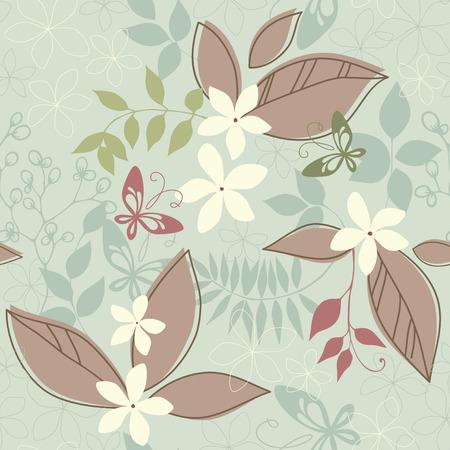 Vector seamless pattern. Illustration