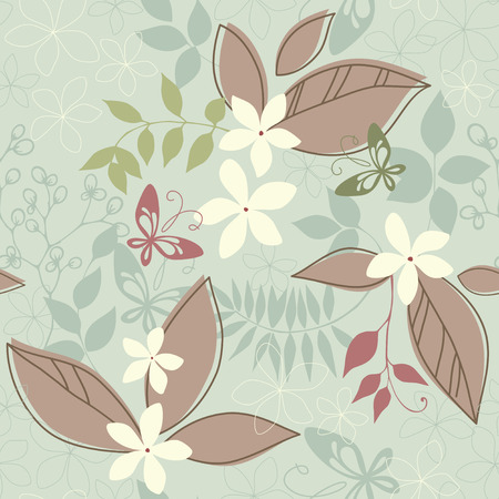 Vector seamless pattern. Ilustração