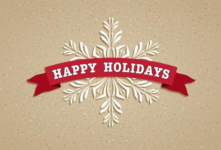 Vector Christmas card.