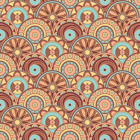 Abstract geometric tasty pattern