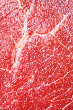 Beef raw red meat closeup texture background
