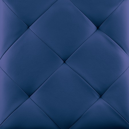 texture cloth: Blue genuine leather upholstery background. Luxury pattern. Stock Photo