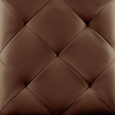 leather texture: Brown genuine leather upholstery background. Luxury pattern.
