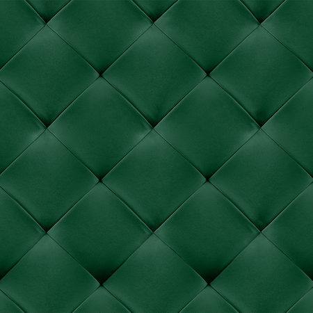 genuine leather: Green genuine leather upholstery background. Luxury pattern.