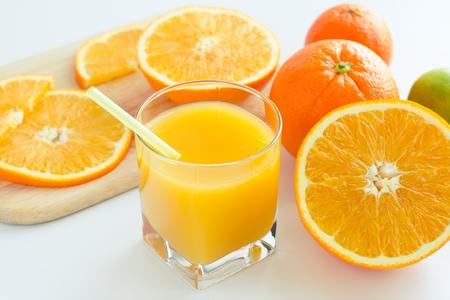 activ: Homemade citrus  orange juice from ripe orange for a breakfast. Selective focus