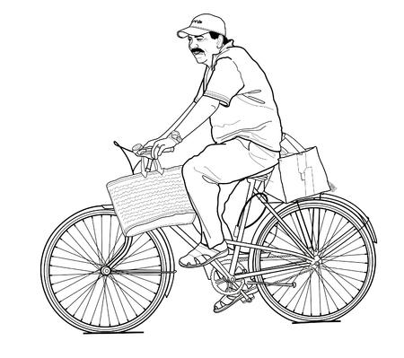 bicyclist: bicyclist