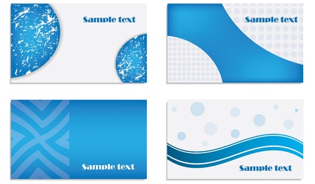 Vector business card set Stock Vector - 11473325