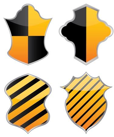 vector shields for design Stock Vector - 11473312