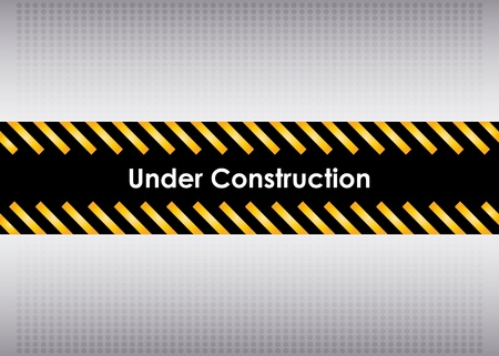 under construction Stock Vector - 11473370