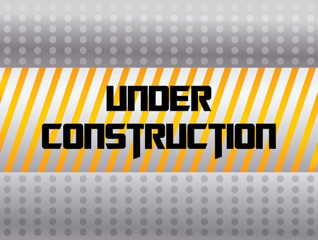 abstract under construction background  Vector