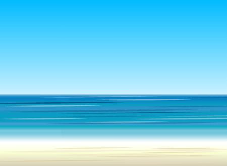 Sea background, vector illustration