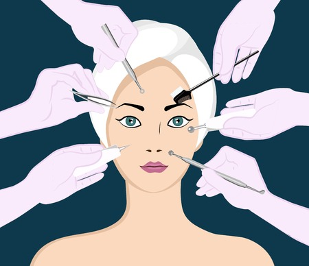 Beauty skincare and cosmetology