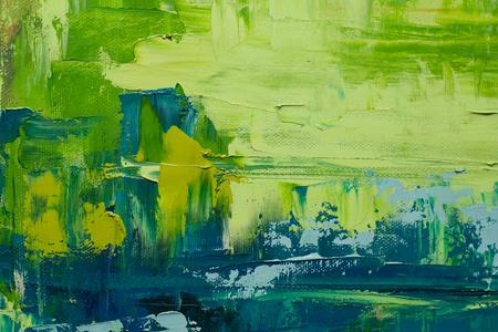 Mano de pintura al óleo dibujado Foto de archivo - 50647754