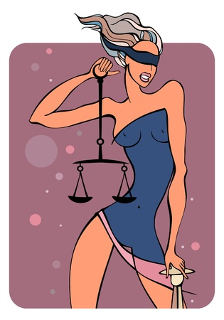 astrological: Zodiac girls. Libra.
