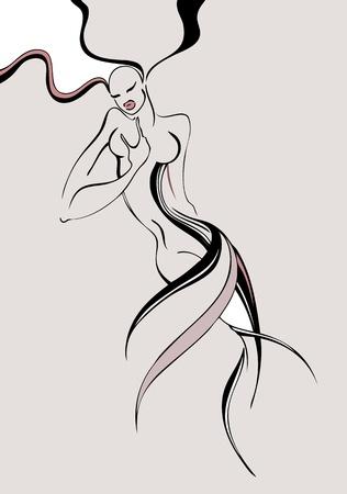 tatouage sexy: mode femme belle