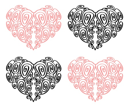 Heart illustration. Stock Illustration - 12284331