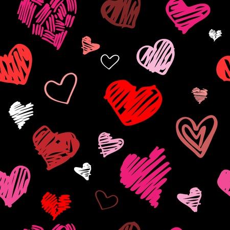 rosa negra: Resumen de antecedentes, el amor sin fisuras patr�n de coraz�n Vectores