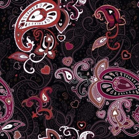 Vintage Paisley pattern  Seamless