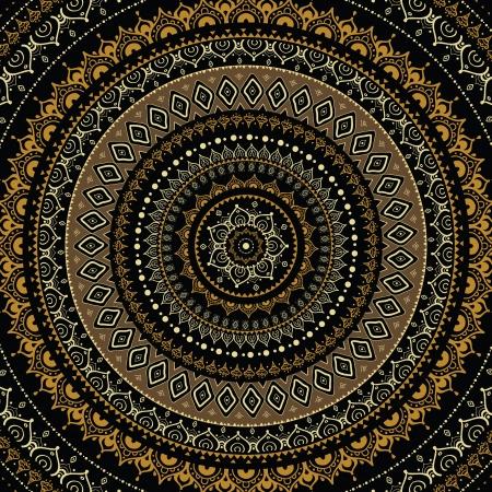 Mandala  Indian decorative pattern