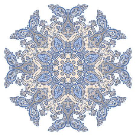 Mandala. Indian decorative pattern. Vector ethnic background. Stock Vector - 23297649