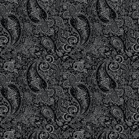 Seamless Paisley background. Hand Drawn vector pattern. Stock Vector - 24168094