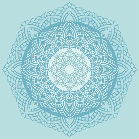 Mandala. Indian decorative pattern. Vector illustration. Stock Vector - 24350203