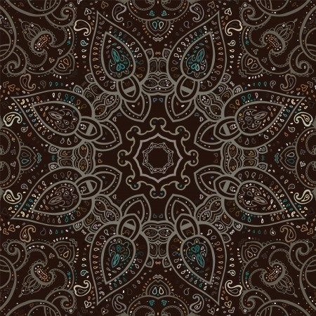 Mandala. Indian decorative pattern. Vector illustration. Stock Vector - 24350204
