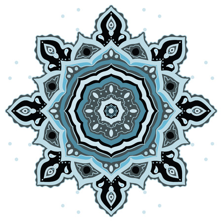 Mandala. Indian decorative pattern. Vector ethnic background. Vector
