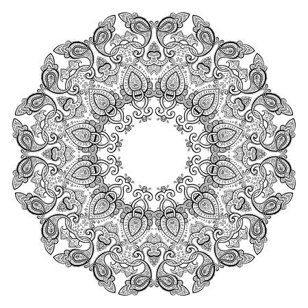 Mandala. Indian decorative pattern. Vector illustration. Vector