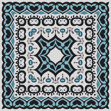 Bandana Pattern Illustration  Vector