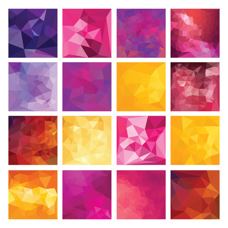 triangular shape: Abstract Geometric backgrounds  Polygonal vector design