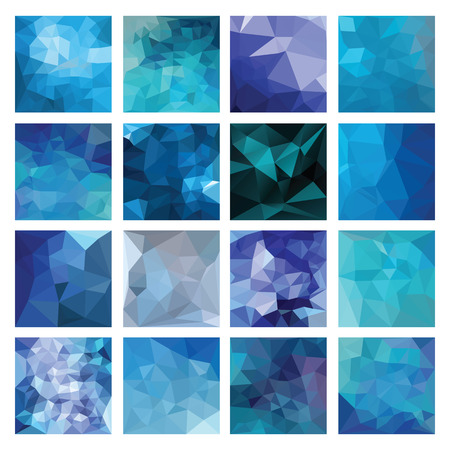 origami pattern: Abstract Geometric backgrounds  Polygonal vector design