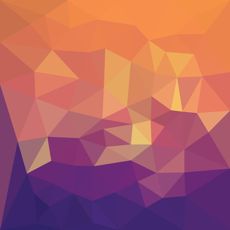 3 d illustration: 3 D Geometric Abstract background. Vector Illustration. Illustration