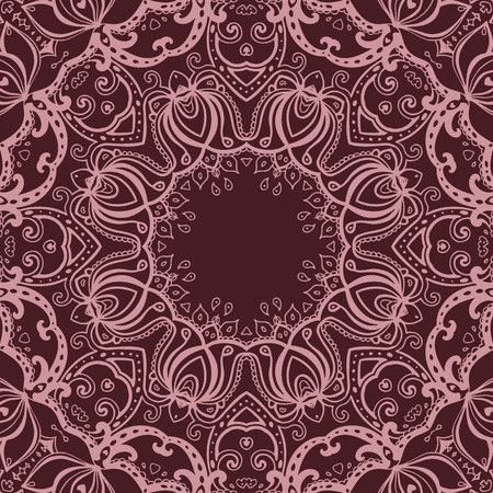 Vector vintage background. Mandala. Indian decorative pattern. Stock Vector - 28790378