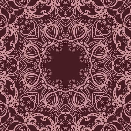 Vector vintage background. Mandala. Indian decorative pattern. Stock Vector - 28790378