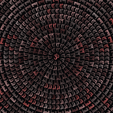 Mandala. Indian decorative pattern. Hand Drawn Vector background. Illustration