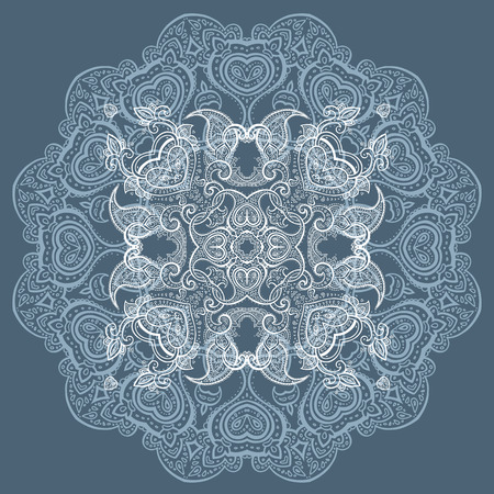 medallion: Beautiful Mandala Ethnic illustration.