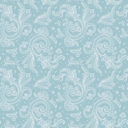 mhendi: Seamless Paisley background Illustration