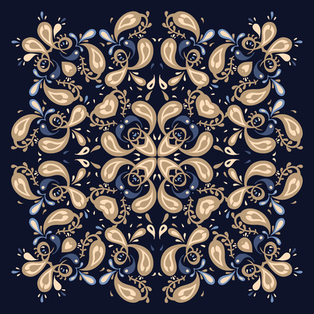 Vector Ornamental  background.  Vector