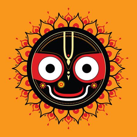 sri yantra: Jagannath  Indian God of the Universe