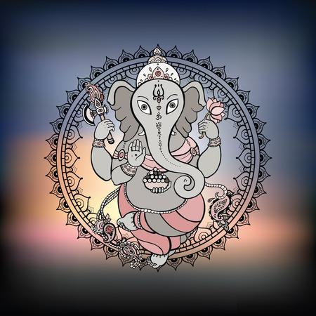 Ganesha Hand drawn illustration