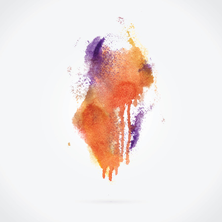 Watercolor background. Vector