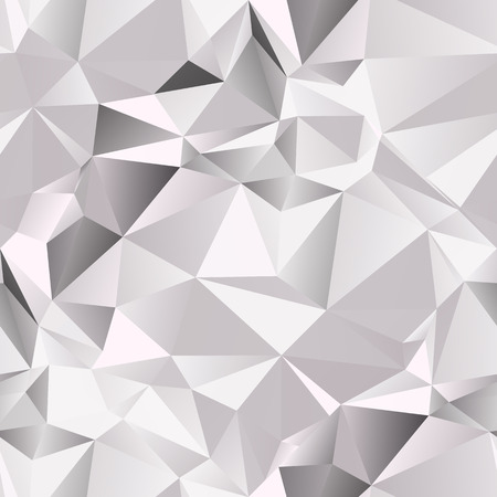 Geometric seamless background. Vector