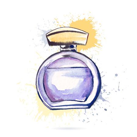 perfume bottle: Beautiful perfume bottle.