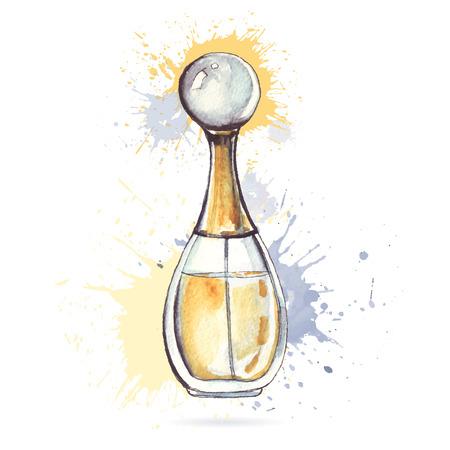 Beautiful perfume bottle.