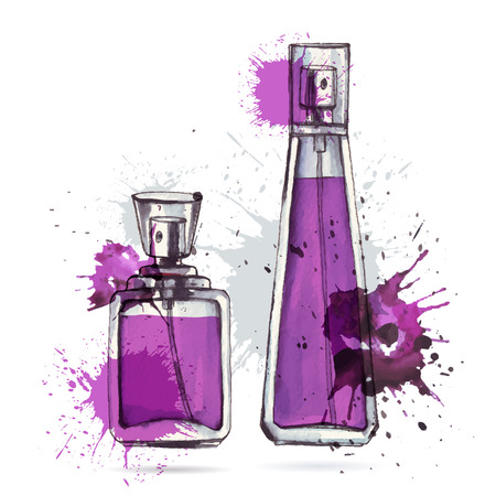 cologne: Beautiful perfume bottle.