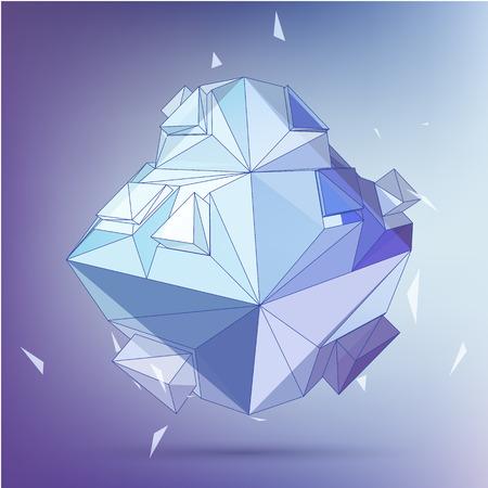 3D concept illustration.