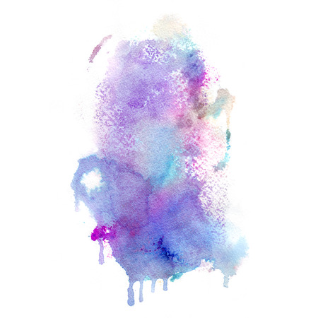 water background: Watercolor background. Hand drawn Painting. Colorful illustration Stock Photo