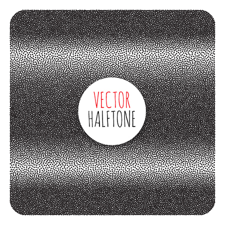 background texture: Halftone Background. Dotwork Abstract Vector illustration Vintage style